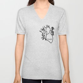 What's in your heart ? Unisex V-Neck