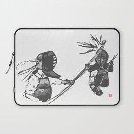 Naginata Sumi-E by Takemi Laptop Sleeve
