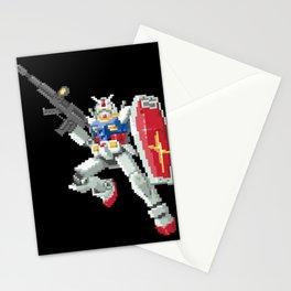 8-bit Gundam Stationery Cards
