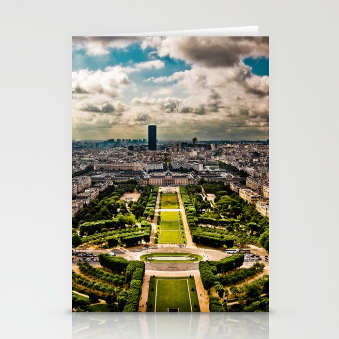 Paris from the Eiffel Tower Stationery Cards
