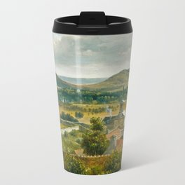 Théodore Rousseau Panoramic View of the Ile-de-France Travel Mug