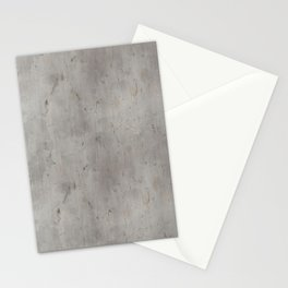 Dirty Bare Concrete Stationery Cards