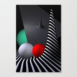 opart -62- shelter Canvas Print