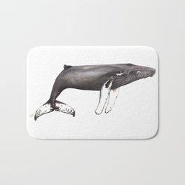 Humpback whale Megaptera Bath Mat