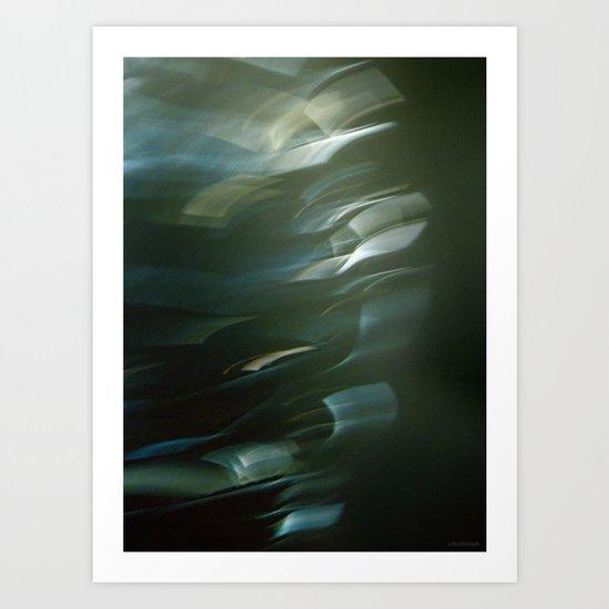 Fluttered Art Print