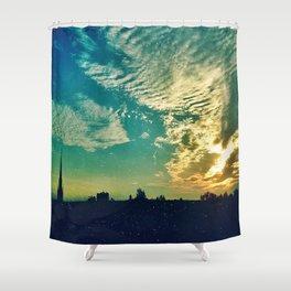 Charleston Skies Shower Curtain
