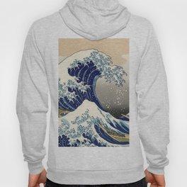 "Katsushika Hokusai ""The Great Wave off Kanagawa"" Hoody"