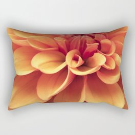 Dahlia design Rectangular Pillow