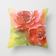 Floral study Throw Pillow