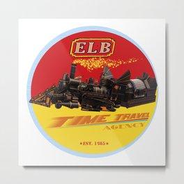 ELB Time Travel Agency Metal Print