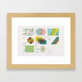 Homage to the Stamp Print Framed Art Print
