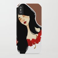 belle iPhone & iPod Cases featuring belle by chazstity