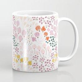 Floral Fields Pattern Design Coffee Mug