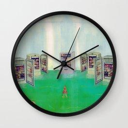 Imbibed Wall Clock