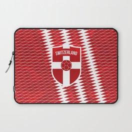 Switzerland Football Laptop Sleeve