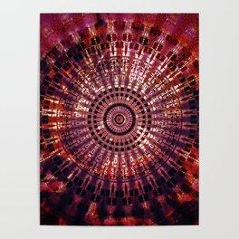 Vintage Abstract Mandala Poster