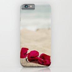 Beach Flowers iPhone 6s Slim Case