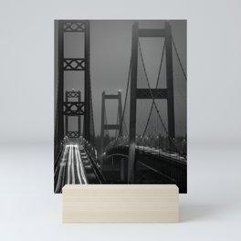 Tacoma Narrows Bridge Mini Art Print