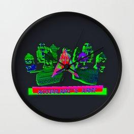 Acidulant's Army  Wall Clock