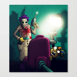 Dentist Canvas Print