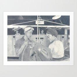 Women at Work Art Print