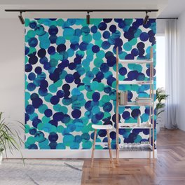 Gracie Spot Blue Wall Mural