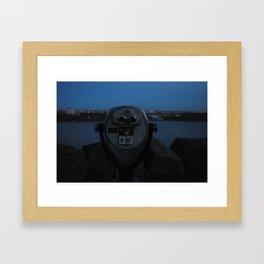 Look Into the Sky Framed Art Print