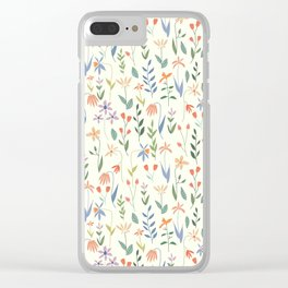 Wildflowers in the Air Light Clear iPhone Case
