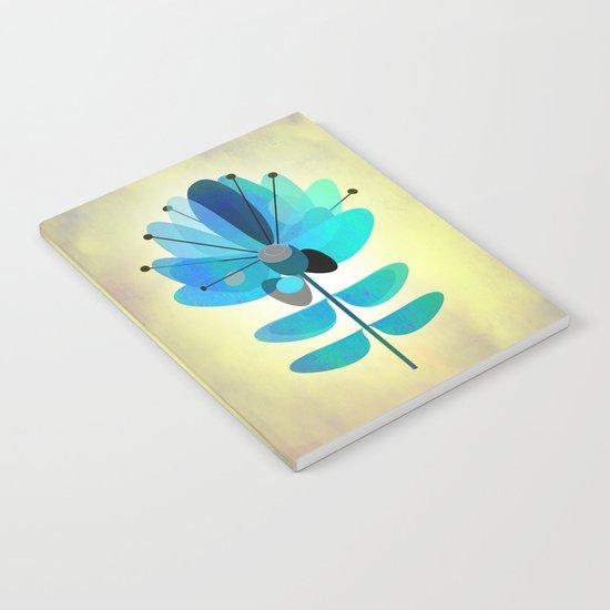 Die Blaue Blume Notebook