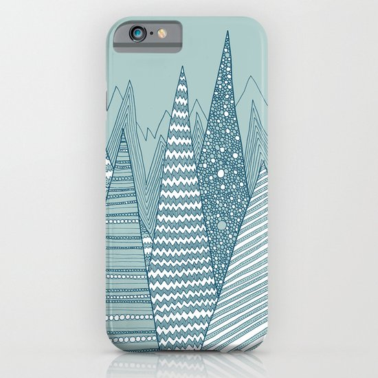 Snowy Mountains iPhone & iPod Case