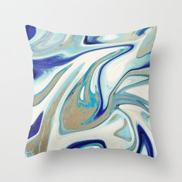agate slice, geode art, geode agate, agate art, contemporary art, abstract geode, abstract art Throw Pillow
