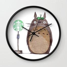 Loetz Original art Wall Clock