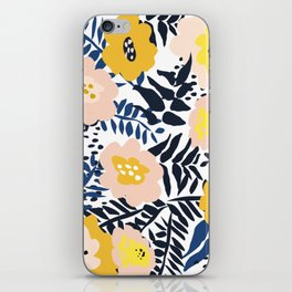 Outdoor: florals matching to design for a happy life iPhone Skin