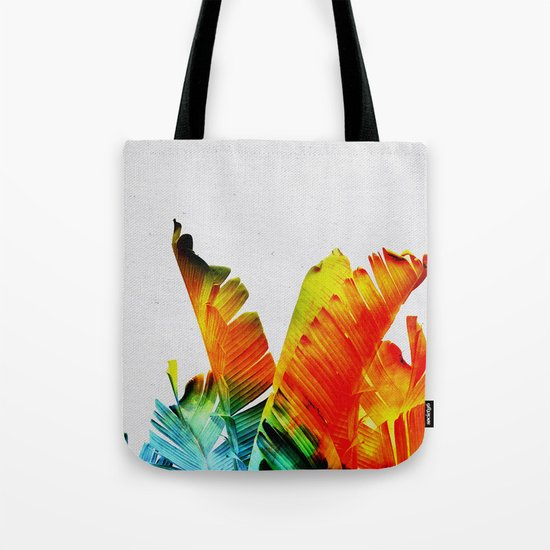 Enchanted Banana Leaves Tote Bag