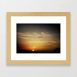 Above Everything Else Be Yourself Framed Art Print