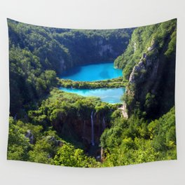 Turquoise Lake Wall Tapestry