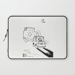 Ape Deals with a Tailgating Driver Laptop Sleeve