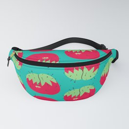 Pin Cushion Print Turquoise Fanny Pack