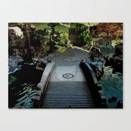 Portland Chinese Garden Canvas Print