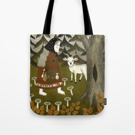 Galiena's goat Tote Bag