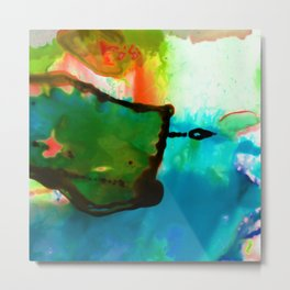 Abstract Bliss 4H by Kathy Morton Stanion Metal Print
