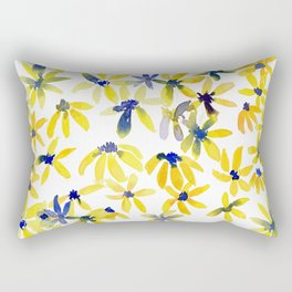 Blue Eyed Susan Rectangular Pillow