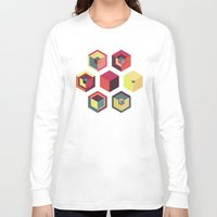 fez Long Sleeve T-shirts featuring Idea Kitchen by Terran Relic