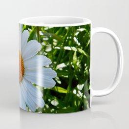 Single White Daisy Coffee Mug