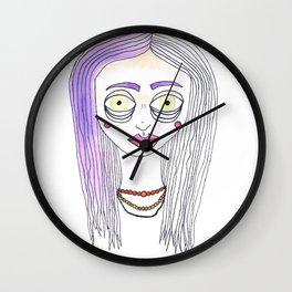 Fairy Floss Wall Clock