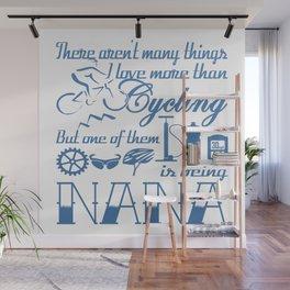 Cycling Nana Wall Mural