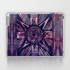 colored compass Laptop & iPad Skin