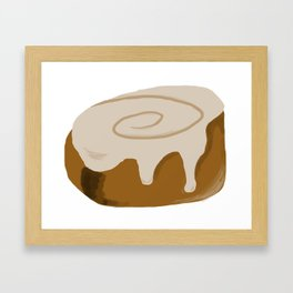 Cinnabun Framed Art Print