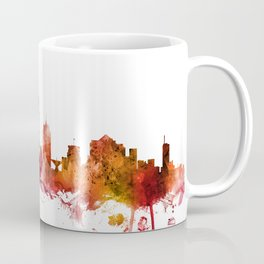 Milwaukee Wisconsin Skyline Coffee Mug