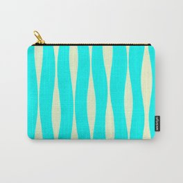 Wavy Pattern (Reversed) Carry-All Pouch